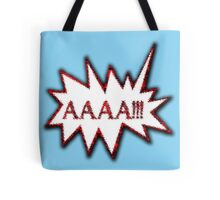 AAAA!!! Scream Hysterical Cartoon Loud Surprise  Tote Bag