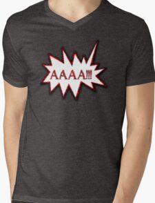 AAAA!!! Scream Hysterical Cartoon Loud Surprise  T-Shirt