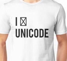 I ☐ Unicode Unisex T-Shirt