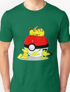 Cute Pokemon Sleep T-Shirt
