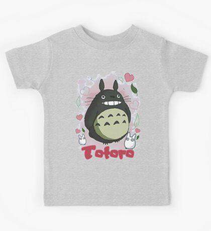 Cute Totoro Love Kids Tee
