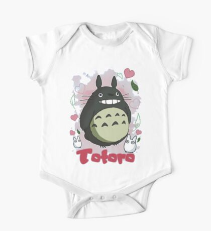 Cute Totoro Love One Piece - Short Sleeve