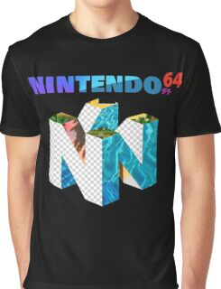 Vaporwave Nintendo 64 Graphic T-Shirt