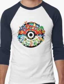 Pokemon Pokeball All Character T-Shirt