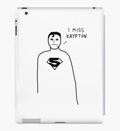 Badly drawn Superhero - Homesick (parody) iPad Case/Skin