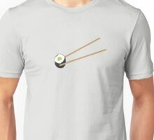 Sushi rolls with chopsticks Unisex T-Shirt