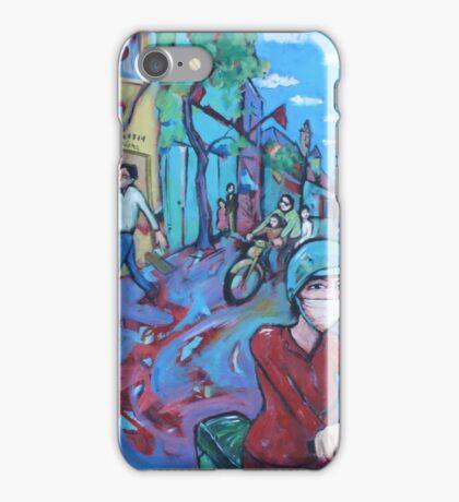 'Hanoi Street' iPhone Case/Skin