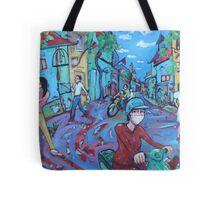 'Hanoi Street' Tote Bag