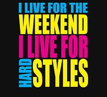Live For The Weekend Music Quote Unisex T-Shirt