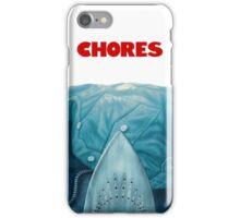 Chores iPhone Case/Skin