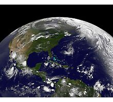 Tropical storms on planet Earth. Photographic Print