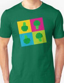 Popart Broccoli Unisex T-Shirt