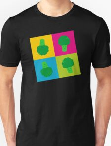 Popart Broccoli Unisex T-Shirt