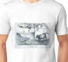 A game dog - Currier & Ives - 1879 Unisex T-Shirt