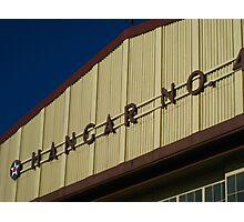 Hickam Air Force Base Hangar Photographic Print
