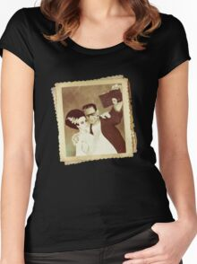 1937 Valentines Day Photo Women's Fitted Scoop T-Shirt