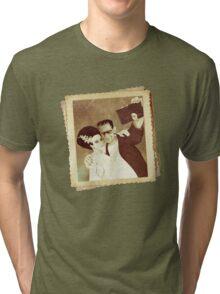 1937 Valentines Day Photo Tri-blend T-Shirt