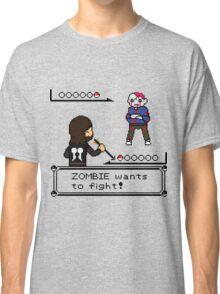 The Walking Dead / Pokemon Fanart Classic T-Shirt