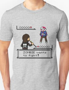 The Walking Dead / Pokemon Fanart Unisex T-Shirt