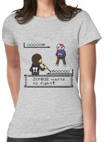 The Walking Dead / Pokemon Fanart Womens Fitted T-Shirt