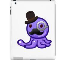 Gentleman octopus emoji iPad Case/Skin