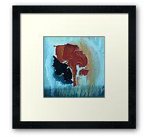 Lost Kidney Framed Print