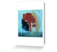 Lost Kidney Greeting Card