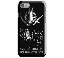 DeFenDer Of Faith iPhone Case/Skin
