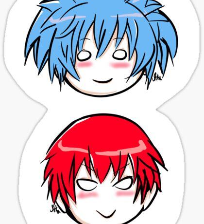 Nagisa and Karma Sticker
