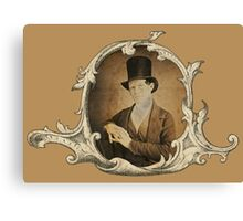 The Top Hat Canvas Print