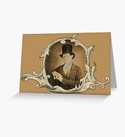 The Top Hat Greeting Card