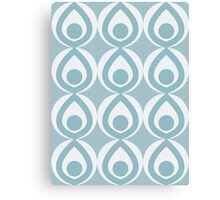 Duck Egg Pattern Canvas Print