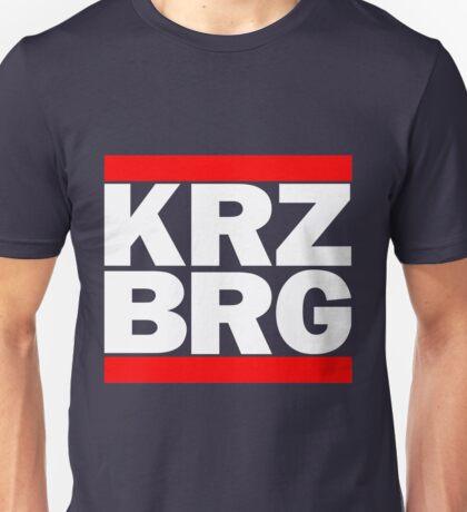 Berlin Kreuzberg KRZBRG logo black Unisex T-Shirt