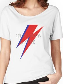 DAVID BOWIE HERO Women's Relaxed Fit T-Shirt