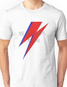 DAVID BOWIE HERO Unisex T-Shirt