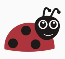 Cartoon LadyBug One Piece - Short Sleeve