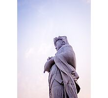 Serenity - Statue at a Buddhist Temple Photographic Print