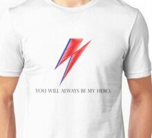 DAVID BOWIE HERO Unisex T-Shirt