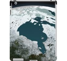 Hudson Bay sea ice on November 14, 2005. iPad Case/Skin