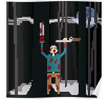 Ash versus The Evil Dead Pixel fanart Poster