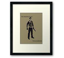 The Governor Framed Print