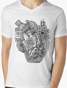 Mandala Tumbegini Mens V-Neck T-Shirt