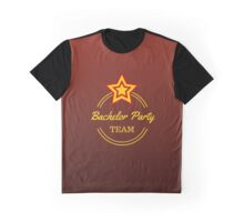 Bachelor Party Team Graphic T-Shirt