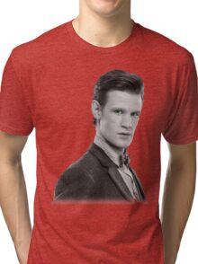 Matt Smith, Dr. Who Tri-blend T-Shirt
