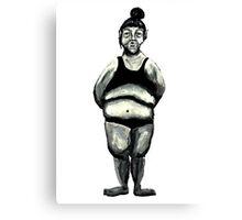 Body Canvas Print