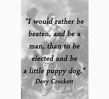 Little Puppy Dog - Davy Crockett Unisex T-Shirt