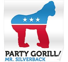 Political Party Animals: Gorilla Poster
