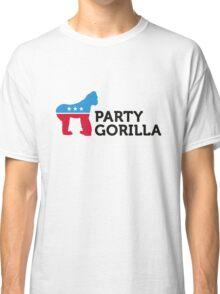 Political Party Animals: Gorilla Classic T-Shirt