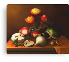 Mario Still Life Canvas Print