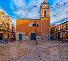 Plaza Canalejas -  El Campello by Ralph Goldsmith
